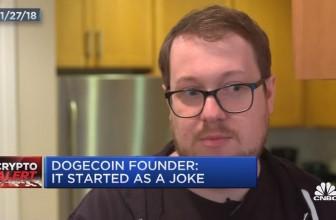 Dogecoin has a top dog worth $2.1 billion
