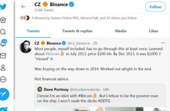 CZ Binance: Most people, myself included, has to go through this at least once.